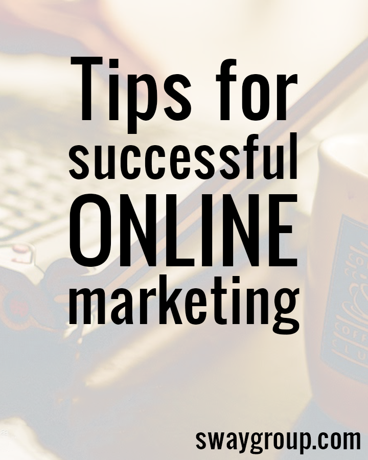 Tips for successful online marketing