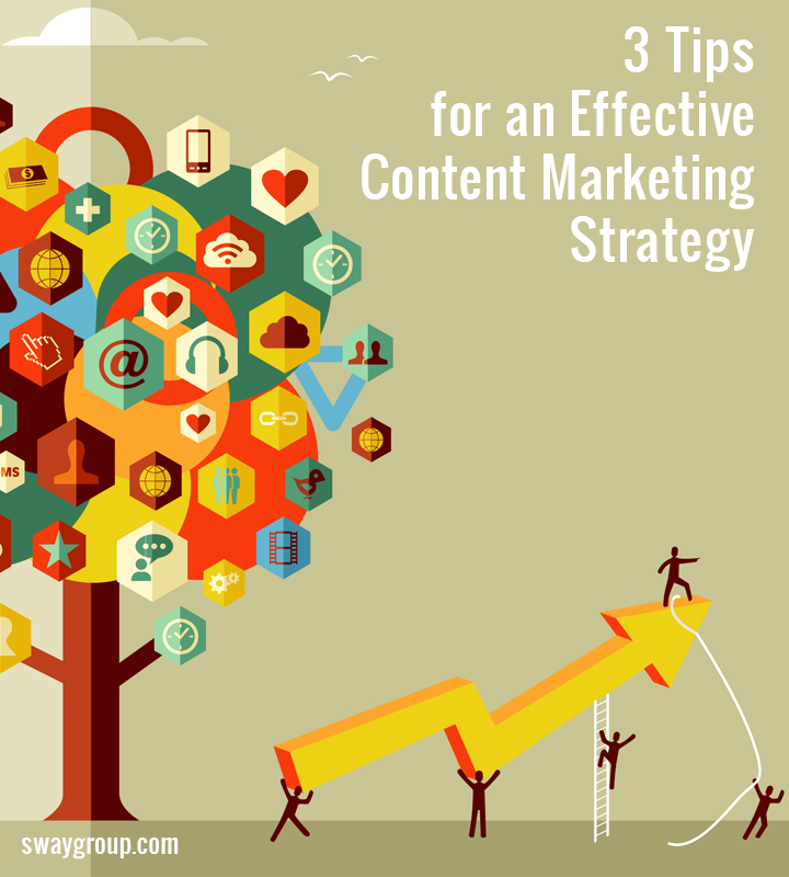 3 Tips for an Effective Content Marketing Strategy
