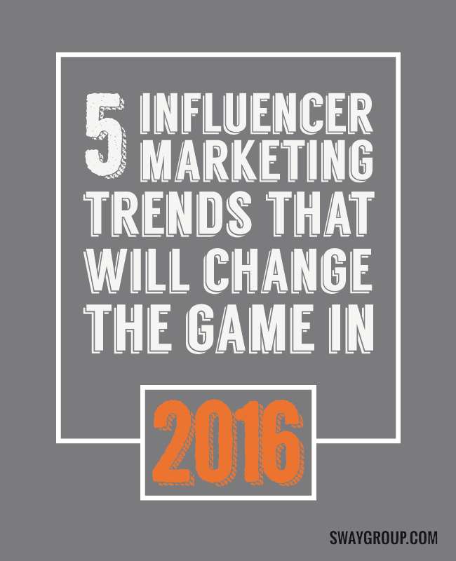 5 influencer marketing trends that will change the game in 2016