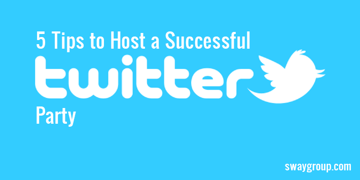 How to host a Twitter party