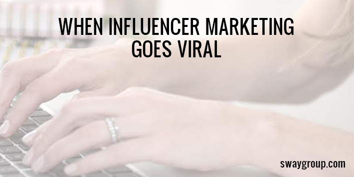 Viral marketing example
