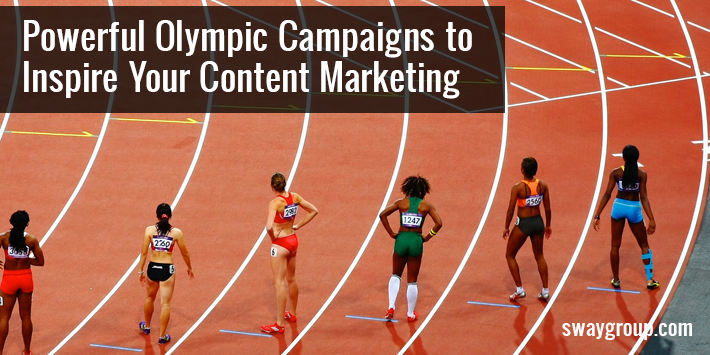 3 Ways to Use The Olympics to Inspire Your Marketing