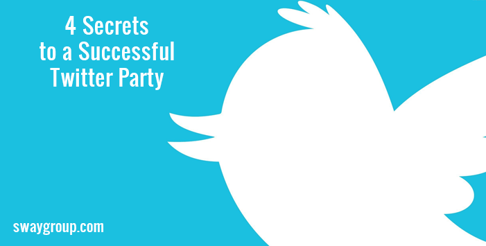 4 Secrets to a Successful Twitter Party