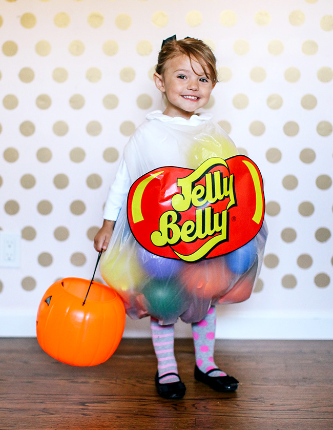 Easy Jelly Belly costume for kids