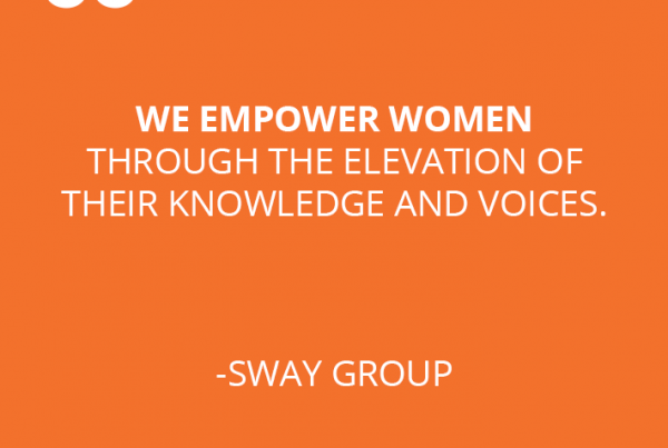 Sway Group Mission Statement