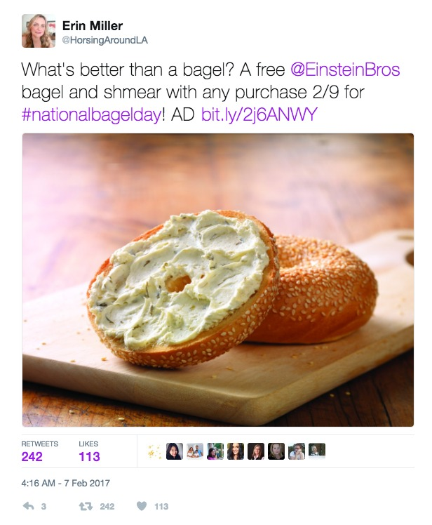 Sway Group National Bagel Day Campaign Hashtag Holidays