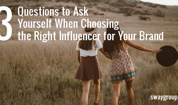 choosing the right influencer
