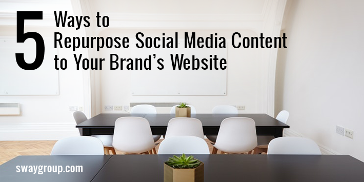 repurpose social media content