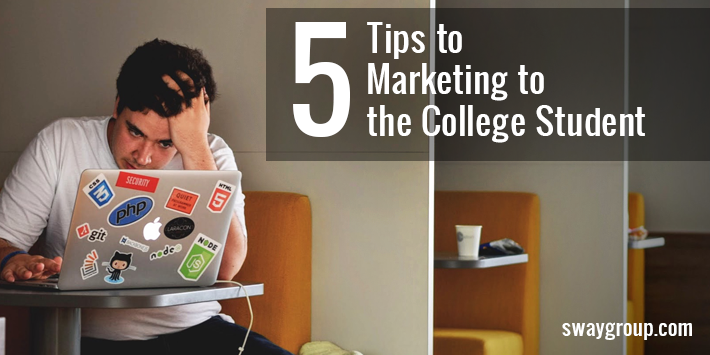 marketing to the college student