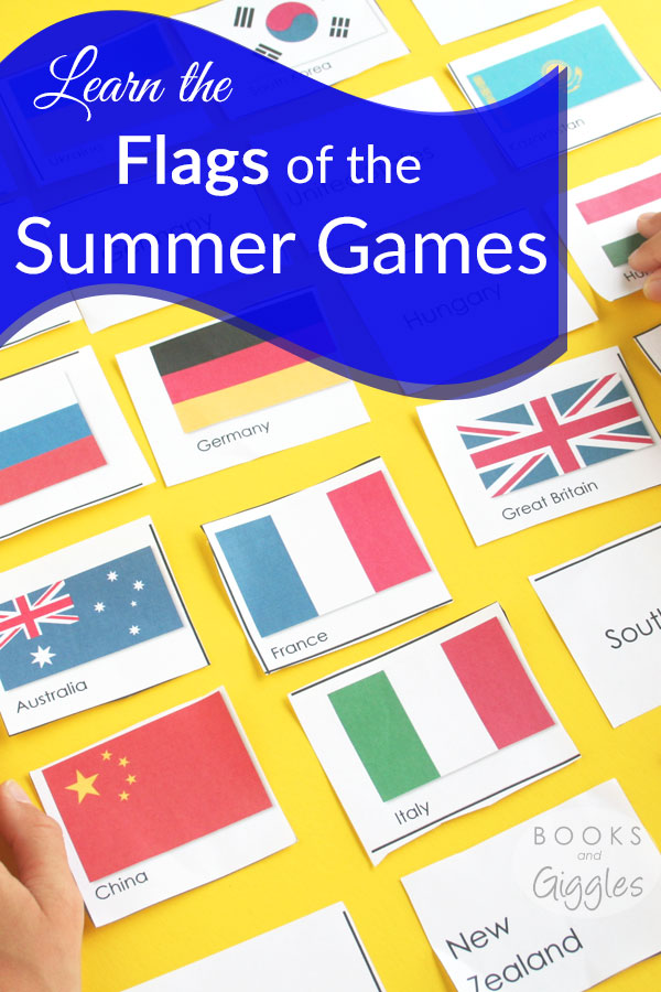 Learning Flags for Summer Olympics with Influencers