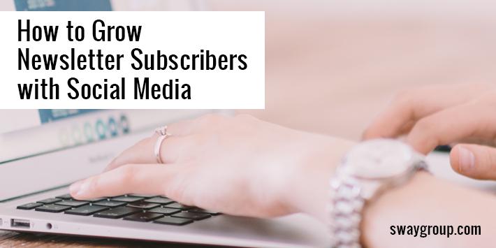 grow newsletter subscribers