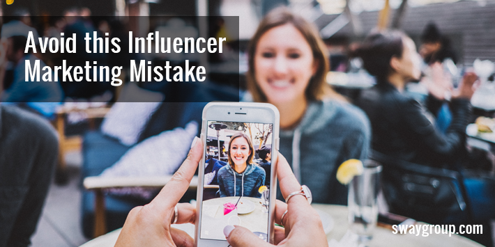 influencer marketing mistake