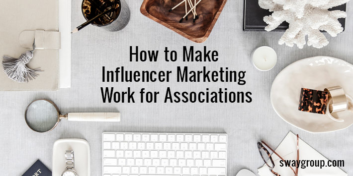 influencer marketing for associations