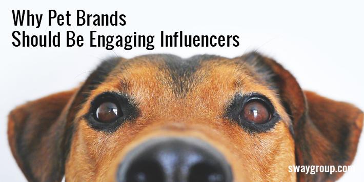 pet brand influencers