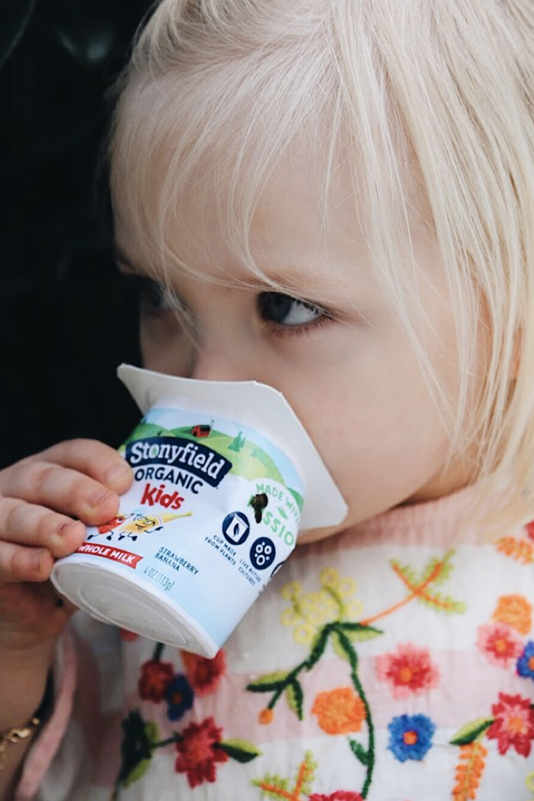An example from a Stonyfield influencer campaign.