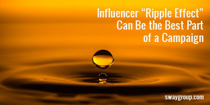 influencer ripple effect