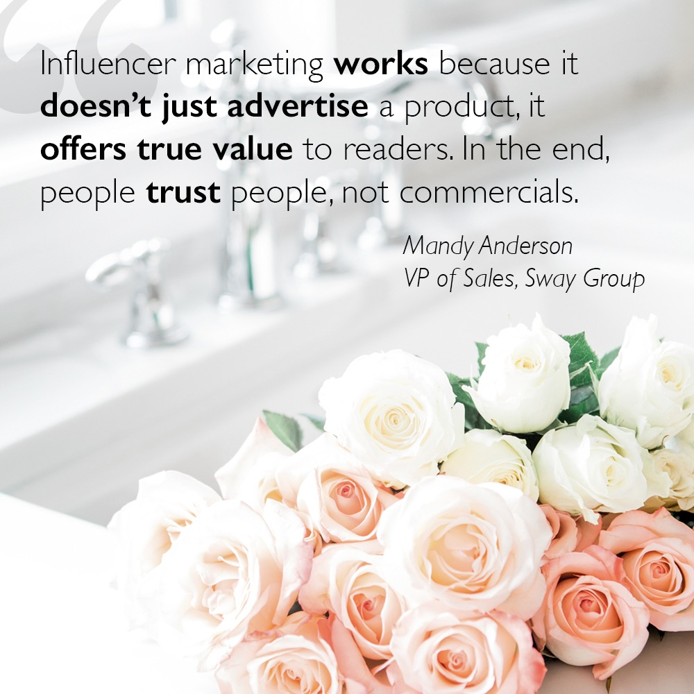 the role of influencers in digital marketing quote