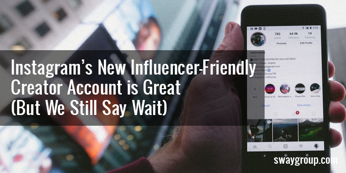 instagram influencer account