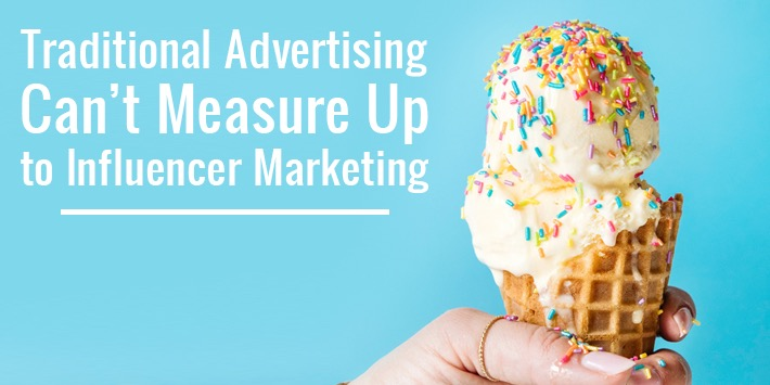 advertising vs influencer marketing