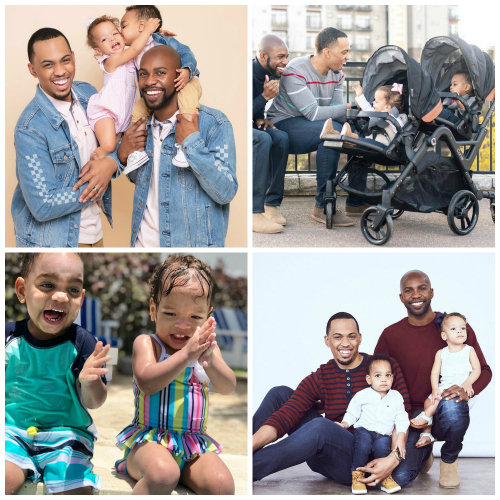 Terrell and Jarius Joseph - parenting influencer
