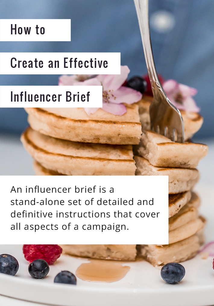 how to create an influencer brief that works