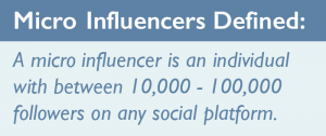 micro influencers defined