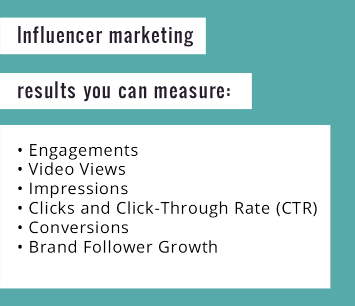 Influencer marketing results you can measure