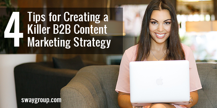 how to create a b2b content marketing strategy