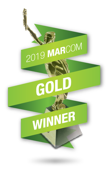 2019 Gold Marcom Award winner