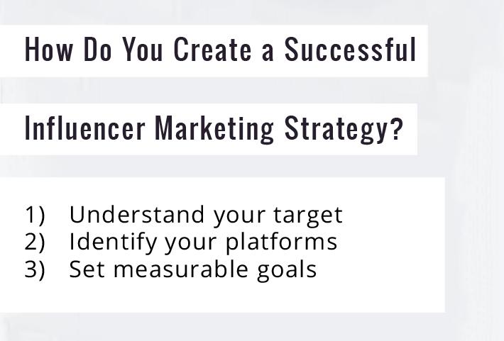 ho do you create a successful influencer marketing strategy?