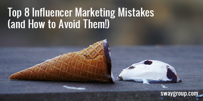 Check out these common influencer marketing mistakes