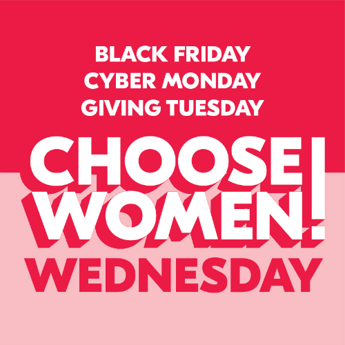 #ChooseWomen Wednesday is coming up!