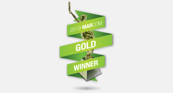 Sway Group is a 2019 Marcom Gold Winner