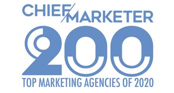 Chief Marketer top marketing agencies of 2020