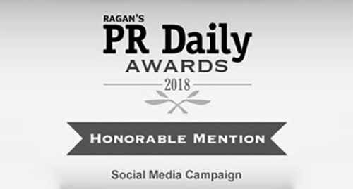 PR Daily Award - Honorable Mention for Social Media Campaign
