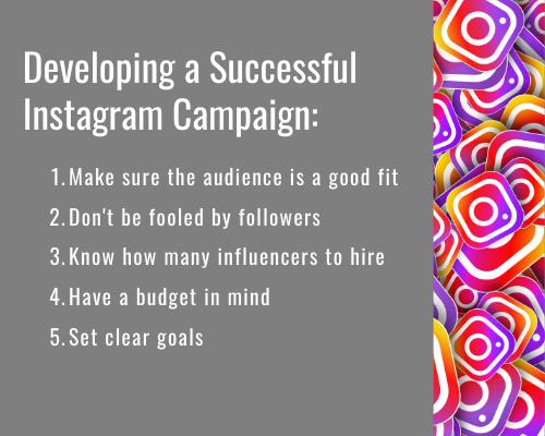 develop a successful instagram campaign