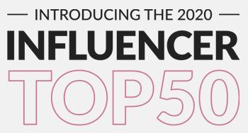 Influencer Top 50 award