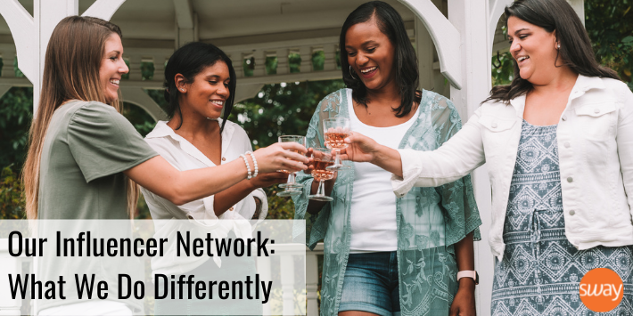 Our influencer network - what Sway Group does differently